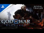 God Of War Ragnarok - PlayStation Showcase 2021 Trailer - PS5