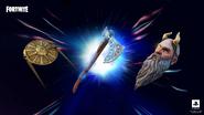 Accesorios de god of war en fortnite