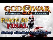 God of War - Ghost of Sparta - PSP - Parte 20 - O FINAL ( HD Legendado em PT-BR )