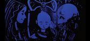 A Saga Borne of Ash - Faye, Atreus, and Kratos