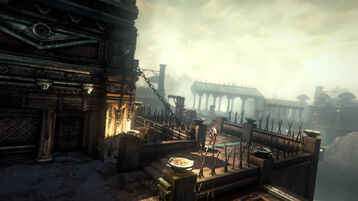 Kratos cittadella furie prigione dannati 4