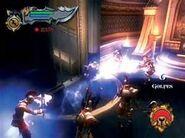 Kratos con la Furia de Cronos