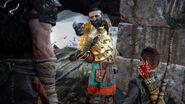 Kratos, Atreus e Sindri