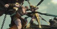 Kratos vs Megeara