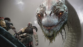 God of War - Screenshot - Jörmungandr