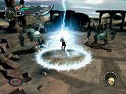 Kratos en el desafío