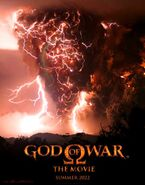 Póster del God of War La Película