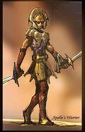Apollo's warrior