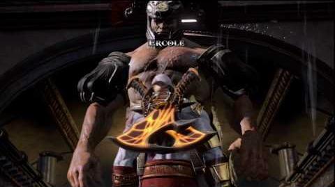 Kratos vs Ercole