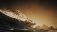 Formazione masse acqua terra dopo morte talassa GoW Ascension