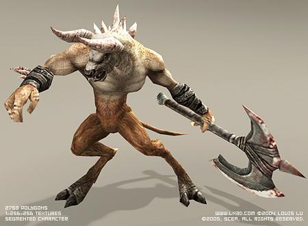 Minotaur Grunt