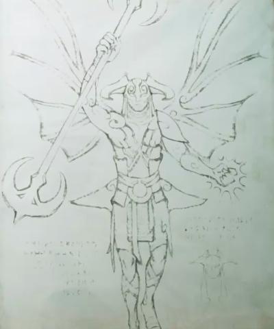 Elfo Oscuro Invocador