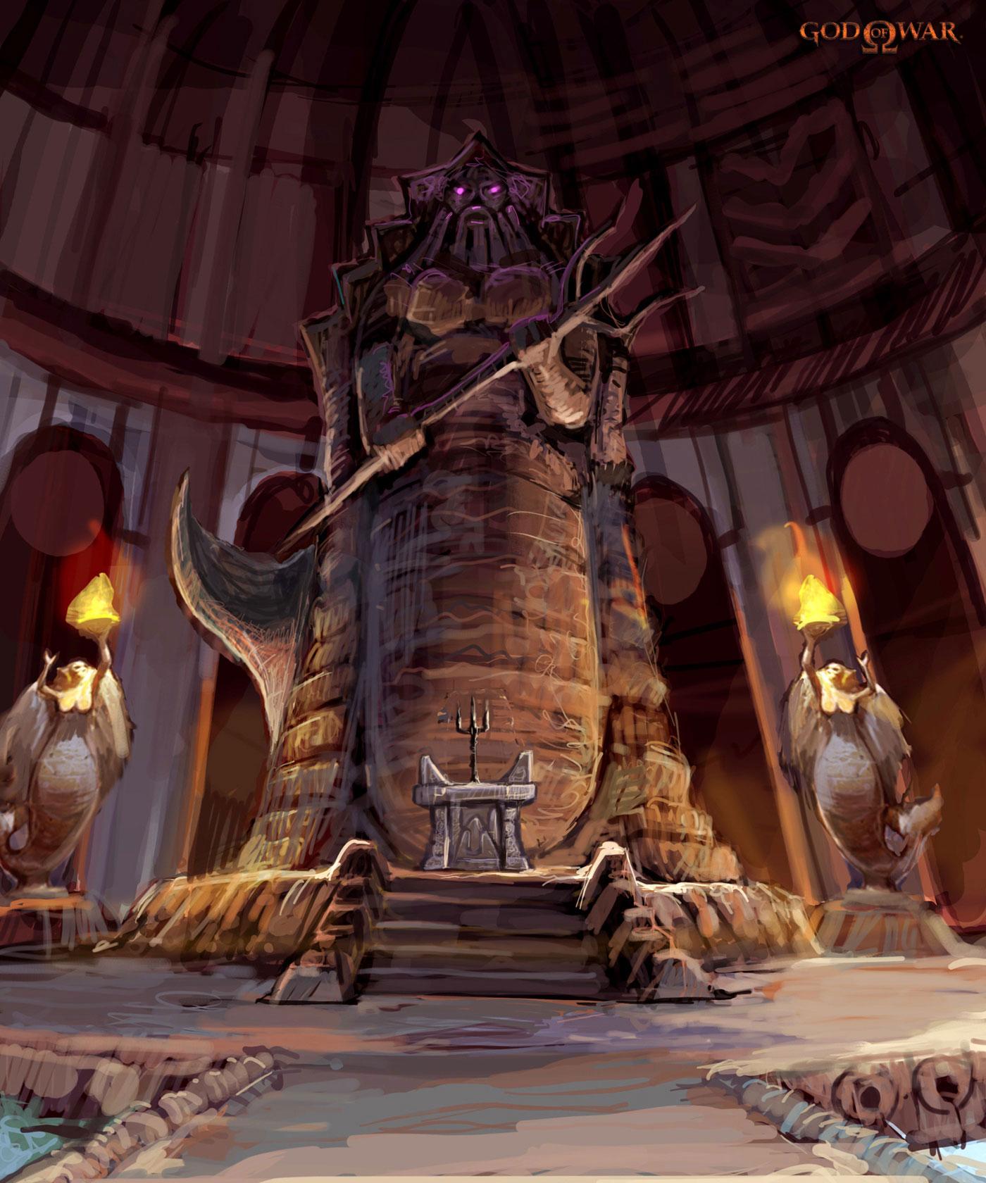 Cámara de Poseidón (Templo de Pandora)