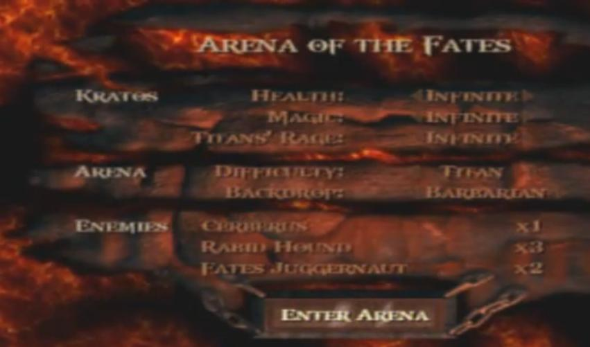 Arena of the Fates