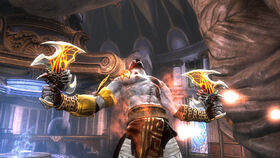 Kratos wins
