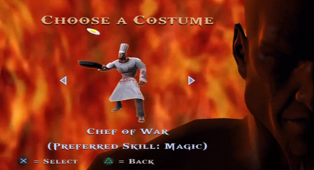 Chef of War (Costume)