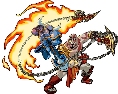 Kratos (Shovel Knight)