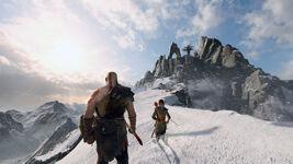 God of War - Screenshot - Gipfel