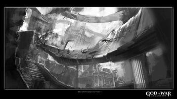 Concept art prigione dannati briareo centimane 8
