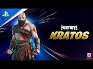 Fortnite - New Kratos Set - PS5, PS4