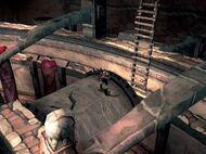 Kratos sobre el rodillo