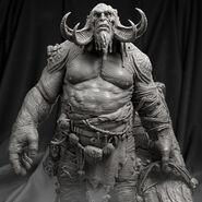 Fire Troll 3D Model