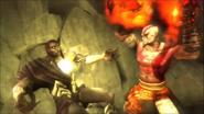 Kratos uccide tanato