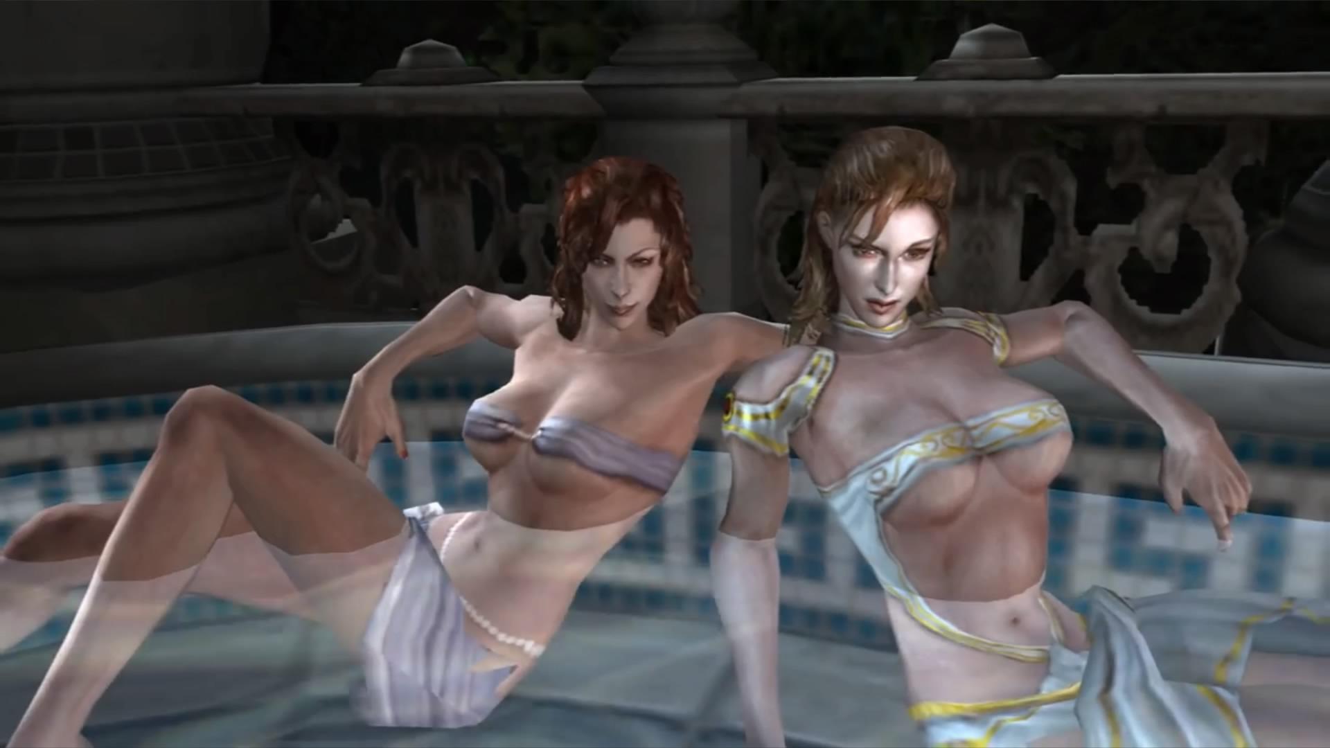 Persephone and Leda
