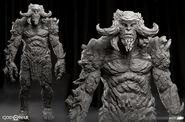 Stone Troll 3D Model