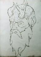 Mimir Zeichnung