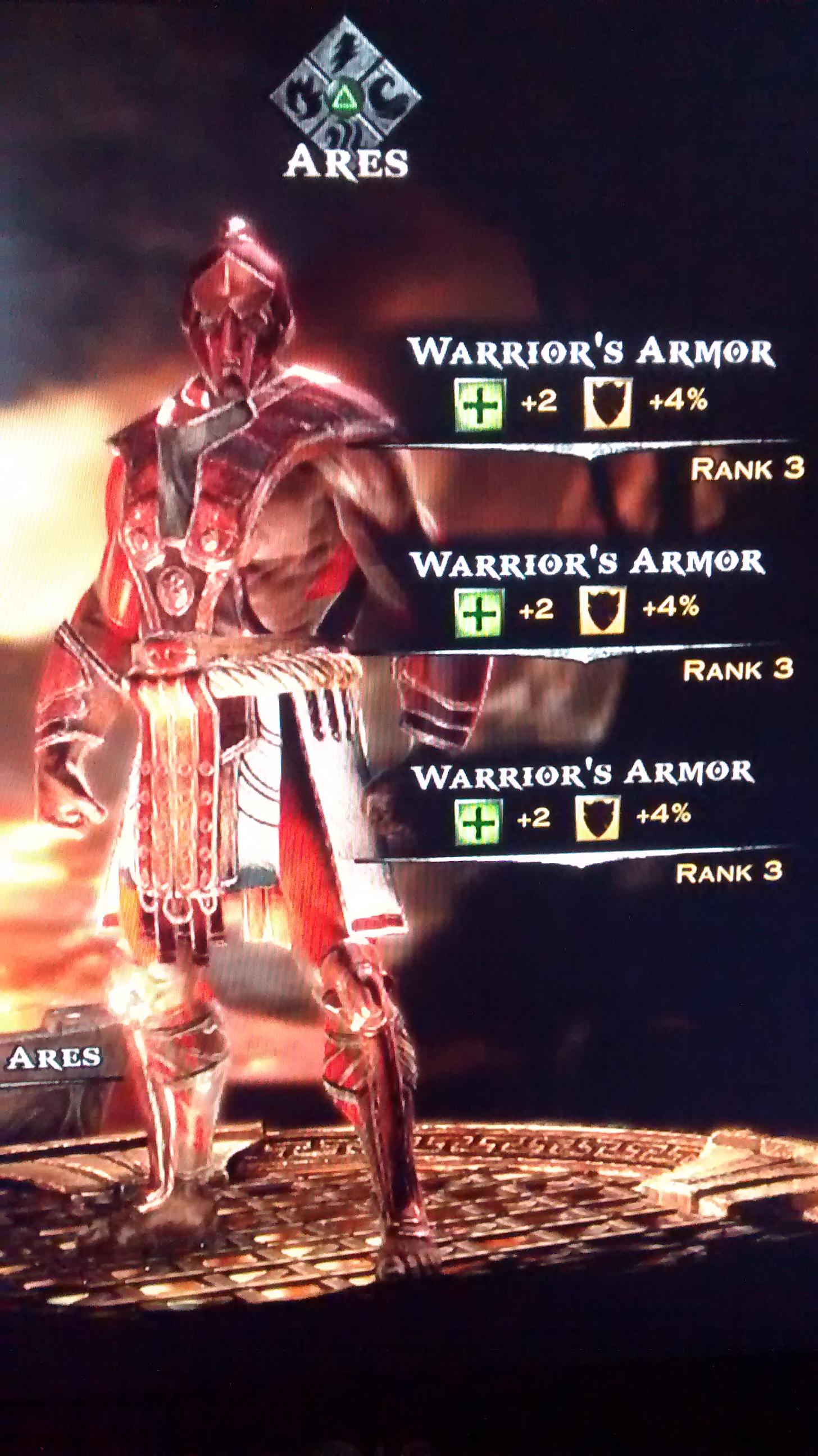 Warrior's Armor