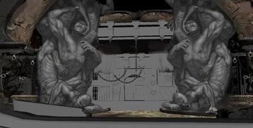 Concept art prigione dannati 6