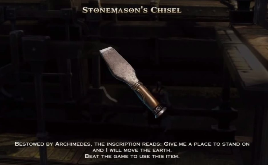 Stonemason's Chisel