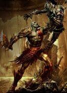 Kratos, un mortale, anche se un semidio.