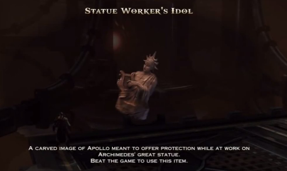 Statue Worker's Idol