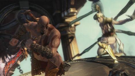 Olive Skin Kratos (Costume)
