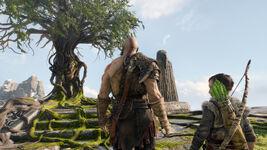 God of War - Screenshot - Mimir 2