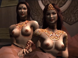 Mulheres Semi-nuas