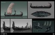 Helheim Boat Concept Art