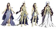 Hera Concept Art Armor and Clothing