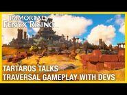 Immortals Fenyx Rising - Tartaros Talks – Traversal with Dev Gameplay Deep Dive - Ubisoft NA