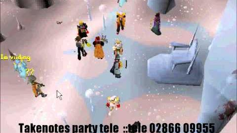 Party in Takenotes place - HD
