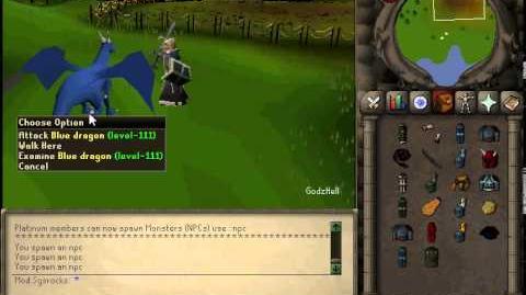 GodzHell 56 Blue Dragon kills