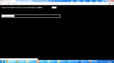 Replicating GodzHell website login with SQL PHP