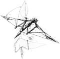 Concept Art - Godzilla vs. MechaGodzilla 2 - Pteranodon Robot 12
