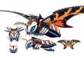 Concept Art - Rebirth of Mothra 3 - Mothra Leo 7