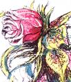 Concept Art - Godzilla vs. Biollante - Biollante Rose 17