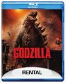 Godzilla 2014 Rental Blu-ray