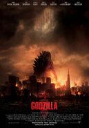 Cartel Godzilla 2014