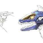 Concept Art - Godzilla Against MechaGodzilla - Kiryu Head 6.png